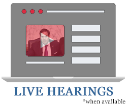 Live Hearings Youtube Page