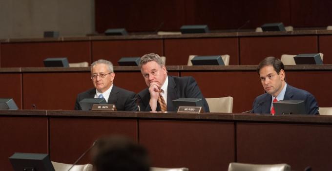 Commission cochairs Representative Smith and Senator Rubio feature image